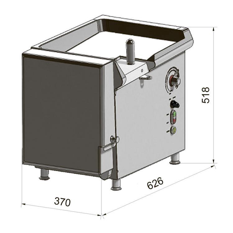 Шпигорезка Dadaux Precicut 2D Electrique фото 3