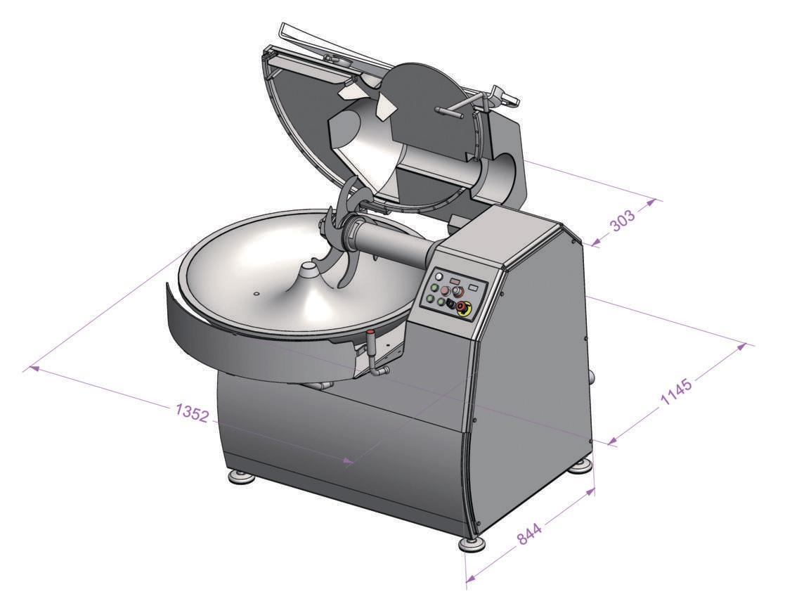 Куттер Dadaux Titan 80V фото 3