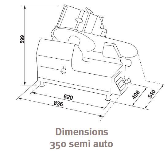 Major Slice 350 semi Auto