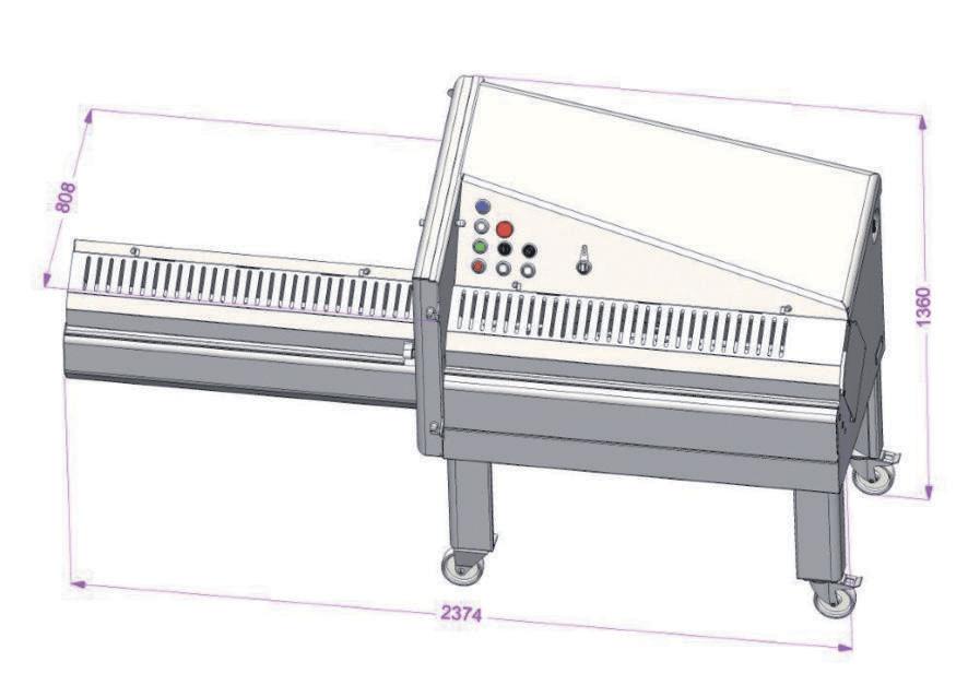 Машины для порционной нарезки Dadaux Icone 1100 фото 3